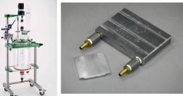 中型ガラス反応容器