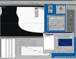 SCA23 表面/界面張力用(ラメラ法)とブリッジアナリシス