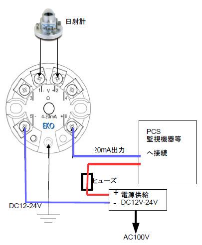 MC-11配線図例-電流値測定
