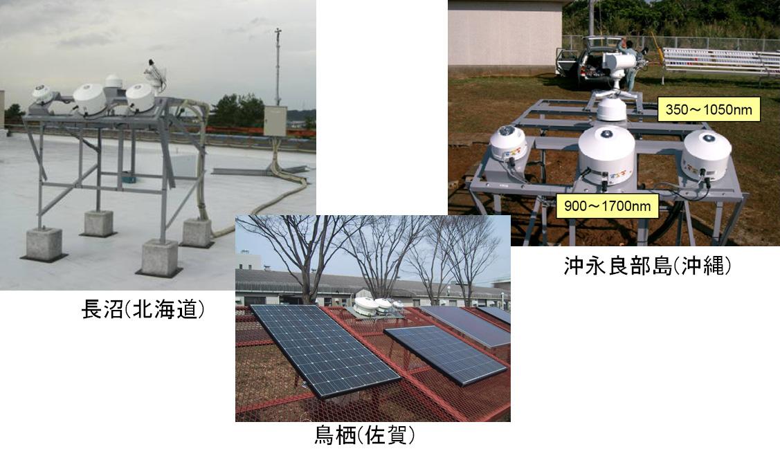 日射気候区別の分光日射データベースの構築