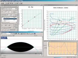 SCA21 表面自由エネルギー解析用