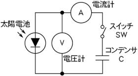 図2.2.2 コンデンサ負荷方式原理図