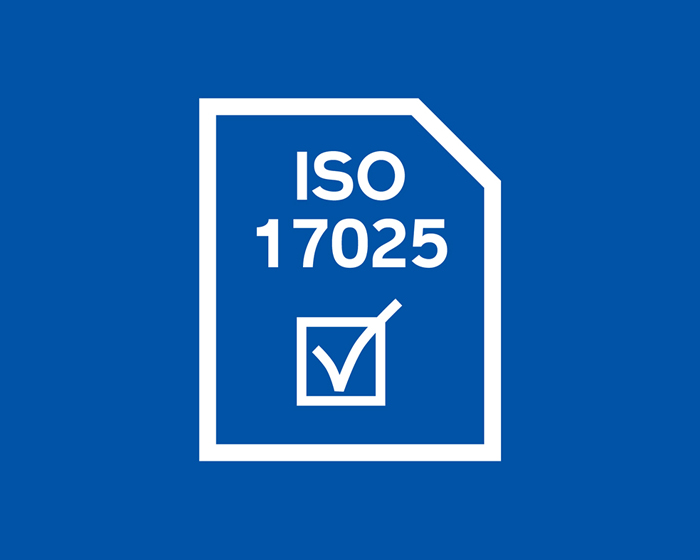 ISO17025認証取得